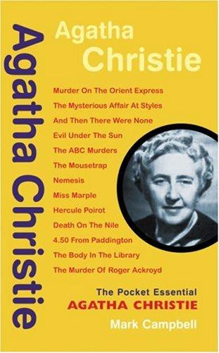 9781903047774: Agatha Christie (Pocket essentials: Literature)
