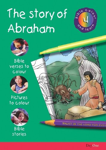 9781903087190: Bible Colour and learn: 04 Abraham
