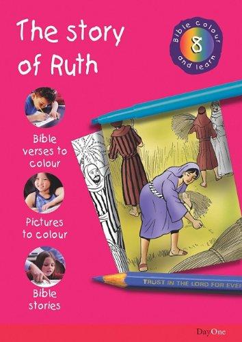 Bible Colour And Learn 08 Ruth Troman Karen