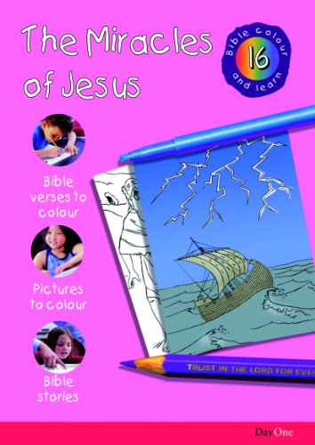 Bible Colour and learn: 16 Miracles of Jesus: Day One Publciations