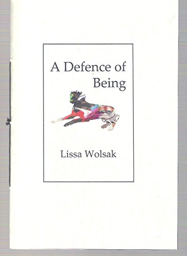 9781903090428: A defence of being