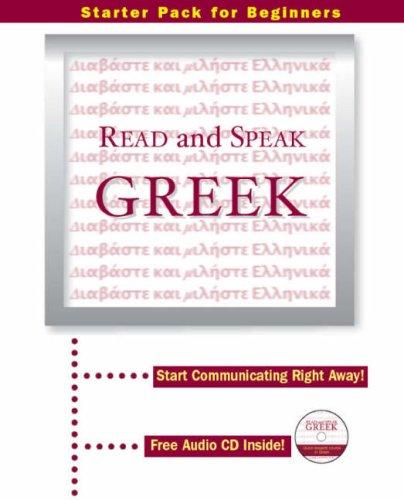9781903103210: Read and Speak Greek: Start Communicating Right Away!