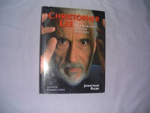 9781903111642: Christopher Lee: The Authorised Screen History