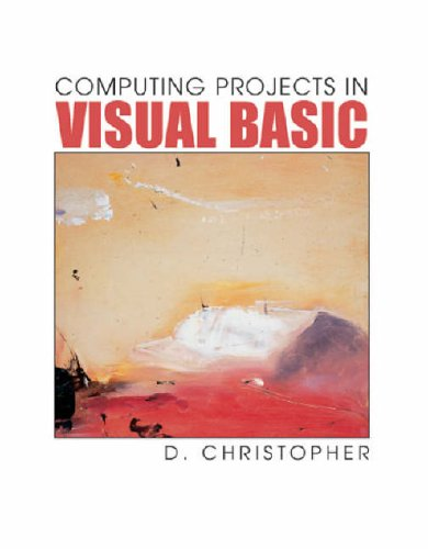 9781903112335: Computing Projects In Visual Basic (GCE Computing)