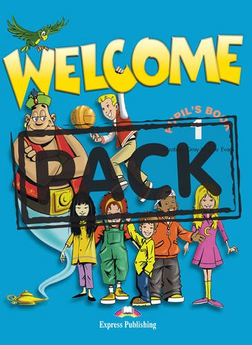 Welcome: Pupil's Book Level 1 (9781903128183) by Elizabeth Gray; Virginia Evans