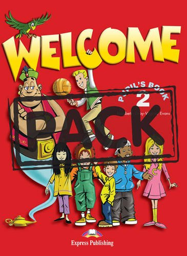 Welcome 2: Pupil's Book (with Audio CD) (1903128374) by Gray, Elizabeth; Evans, Virginia