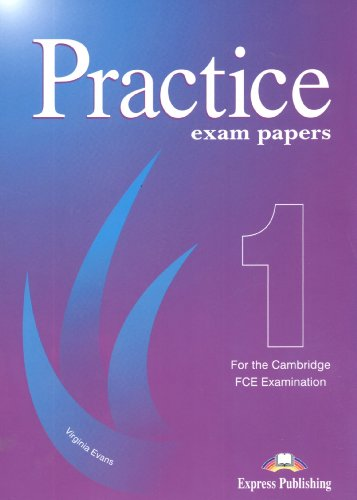 9781903128640: Revised Cambridge FCE Examination: Practice Exam Papers 1