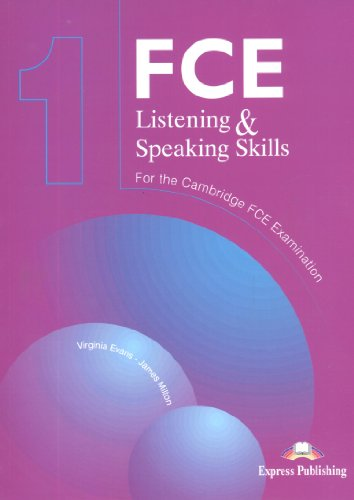 9781903128671: FCE Listening and Speaking Skills for the Revised Cambridge FCE Examination: Level 1