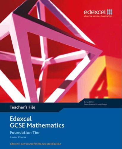 9781903133880: Edexcel GCSE Maths: Linear Foundation Teacher File