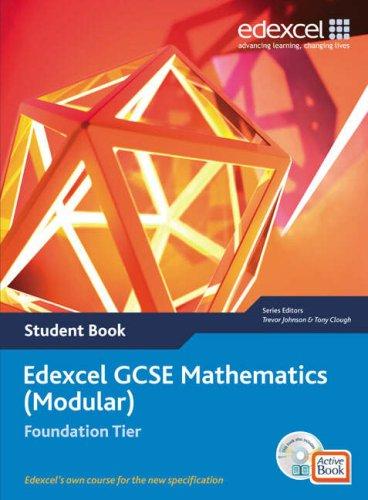 9781903133989: Edexcel GCSE Maths: Modular Foundation Student Book and Active Book (Edexcel GCSE Maths)