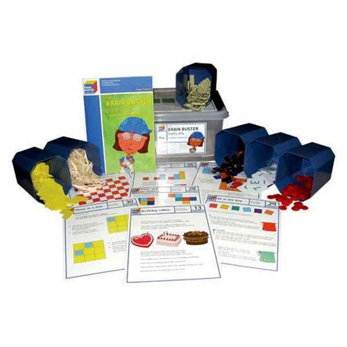 9781903142547: Brain Buster Maths all 3 Boxes: Brain Buster Maths Box Years 5 & 6: The NRICH Problem - Solving Kit