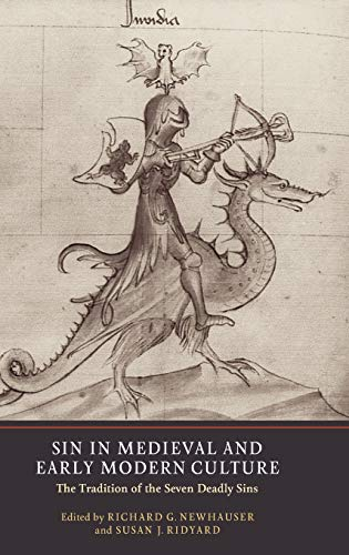 9781903153413: Sin in Medieval and Early Modern Culture