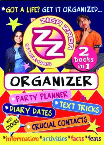 Ziga Zaga Stick Ons Organiser (1903174813) by Young, Jay