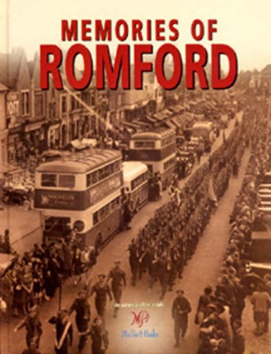 Memories Of Romford (SCARCE HARDBACK FIRST EDITION, FIRST PRINTING SIGNED BY STEVE DAVIS, TOGETHE...