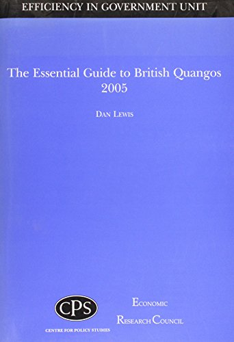 9781903219867: The Essential Guide to British Quango's