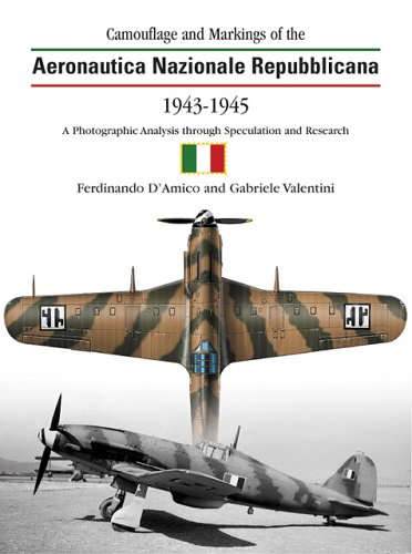 9781903223291: Camouflage and Markings Of The Aeronautica Nazionale Repubblicana 1943-1945: A Photographic Analysis Through Speculation and Research