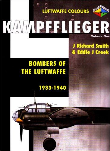 9781903223420: Kampfflieger: 1933-1940 v. 1: Bombers of the Luftwaffe (Luftwaffe Colours)