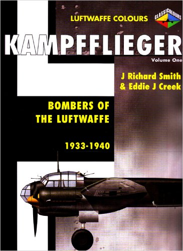 Kampfflieger: Bombers Of The Luftwaffe, 1933-1940 (Luftwaffe Colours)