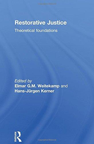 9781903240724: Restorative Justice: Theoretical foundations