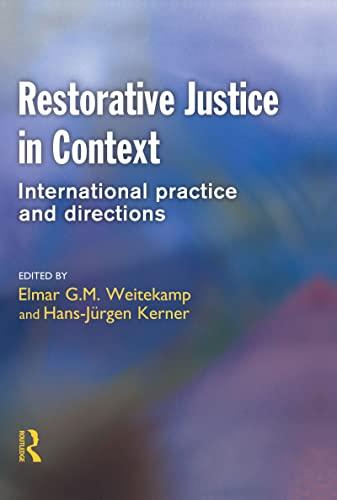 Restorative Justice in Context: Willan