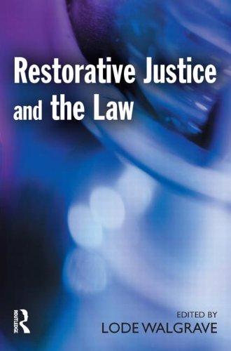 9781903240960: Restorative Justice and the Law