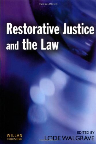 9781903240977: Restorative Justice and the Law