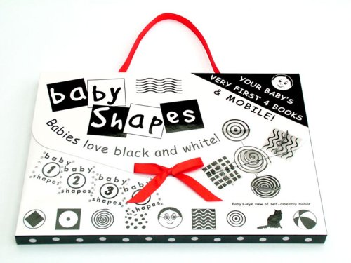9781903275528: Baby Shapes 4 Books and Mobile Set
