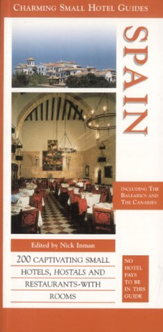 9781903301104: Spain (Charming Small Hotel Guides)