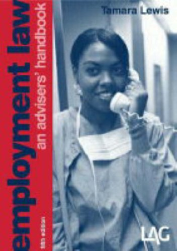 9781903307205: Employment Law: An Advisers' Handbook