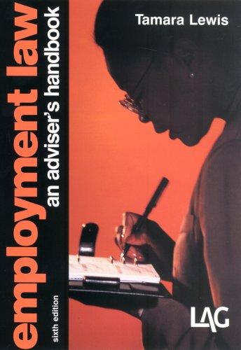 9781903307366: Employment Law: An Adviser's Handbook