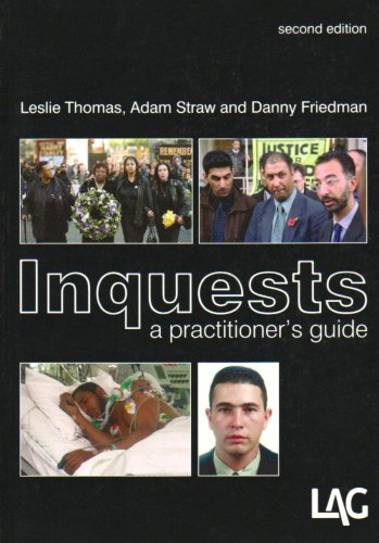Inquests (1903307562) by Leslie Thomas; Adam Straw