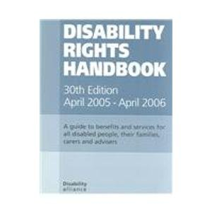 9781903335222: Disability Rights Handbook 2005/2006