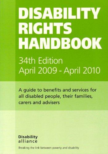 9781903335475: Disability Rights Handbook 2009-2010