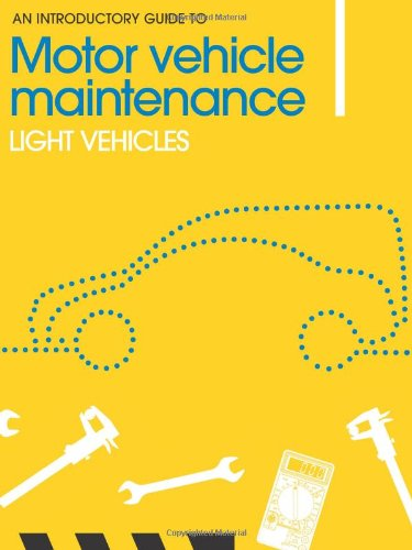 9781903348246: An Introductory Guide to Motor Vehicle Maintenance: Light Vehicles