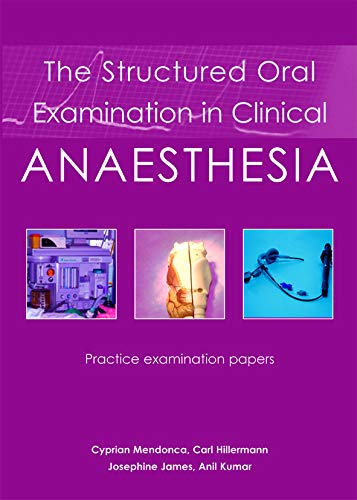 9781903378687: Structured Oral Examination in Clinical Anaesthesia: Practice Examination Papers