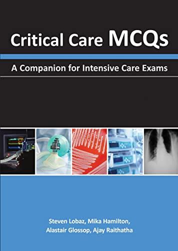 9781903378991: Critical Care MCQs: A Companion for Intensive Care Exams