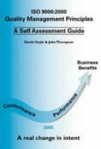 9781903417003: Quality Management Principles: A Self Assessment Guide