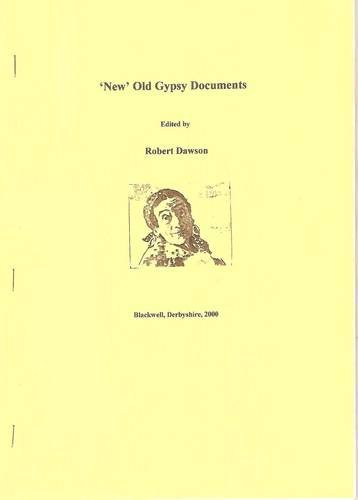 """New"" Old Gypsy Documents (Gypsy/Traveller) (1903418003) by Robert Dawson"