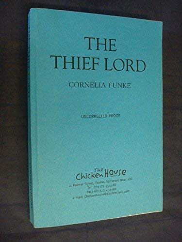 The Thief Lord Signed By Author: Funke, Cornelia