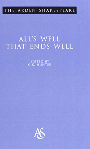 "9781903436226: ""All's Well That Ends Well"" (Arden Shakespeare: Second Series)"