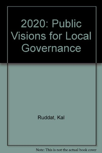 9781903447000: 2020: Public Visions for Local Governance