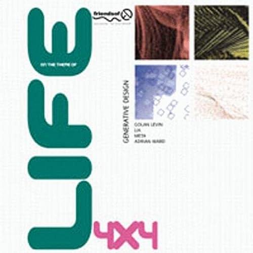 9781903450475: 4x4 Generative Design (with Auto-Illustrator, Java, DBN, Lingo): Life/Oblivion