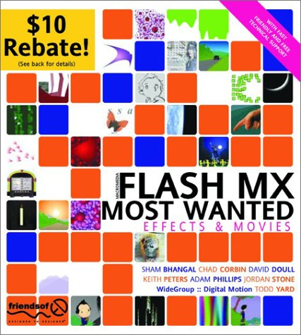 9781903450949: Flash MX Most Wanted: Effects and Movies
