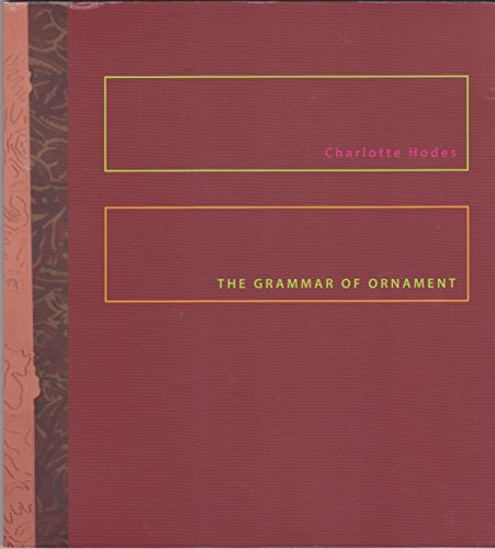 Charlotte Hodes, The Grammar of Ornament, New papercuts and Ceramics: Hodes, Charlotte & McKenzie, ...
