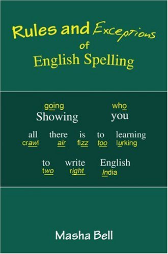 9781903490396: Rules and Exceptions of English Spelling