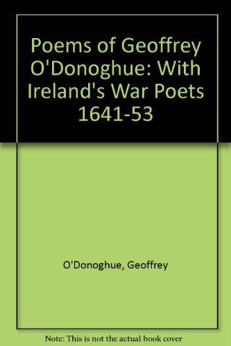 Poems of Geoffrey O'Donoghue: Geoffrey O'Donoghue
