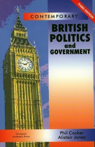 9781903499016: Contemporary British Politics and Government: Third Edition