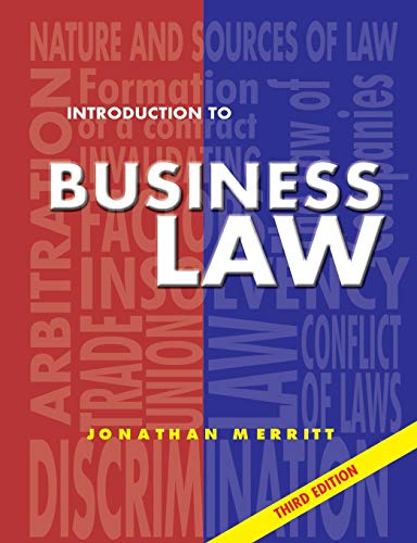 9781903499047: Introduction to Business Law 3rd Ed: Third Edition