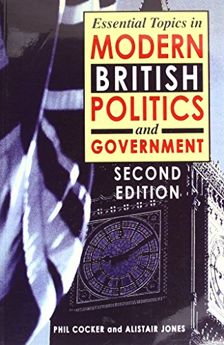 9781903499320: Essential Topics in British Politics and Government