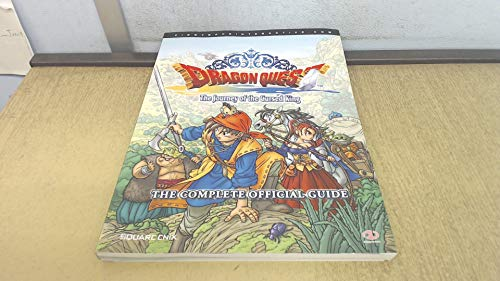 9781903511855: Dragon Quest: The Journey of the Cursed King, the Complete Official Guide (Official Strategy Guide)
